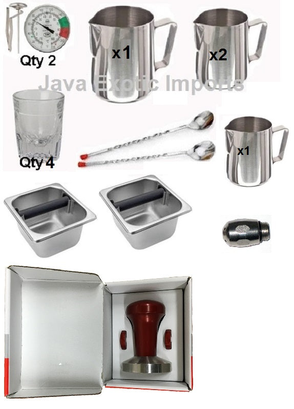 Barista Kit - Premium Pro Plus - Java Exotic Imports