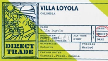 Colombia Finca Villa Loyola Washed Caturra - Free Shipping