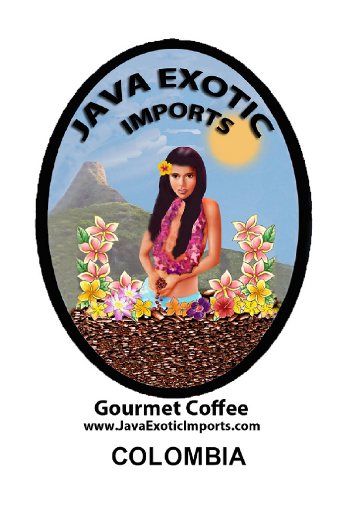 Colombia Tolima Organic Coffee - Free Shipping - Java Exotic Imports
