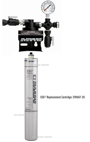 Everpure QC7i Single Filter Head and ESO7 Softener Cartridge