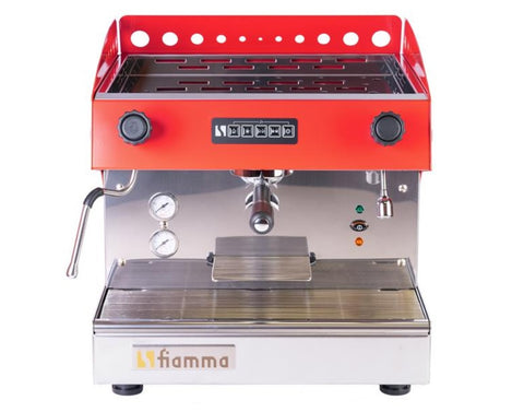 FIAMMA CARAVEL COMMERCIAL MACHINE 1 GROUP, VOLUMETRIC, V120 / 1800W