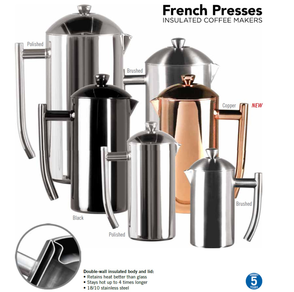 Frieling USA Double Wall French Press Coffee Maker - Java Exotic Imports