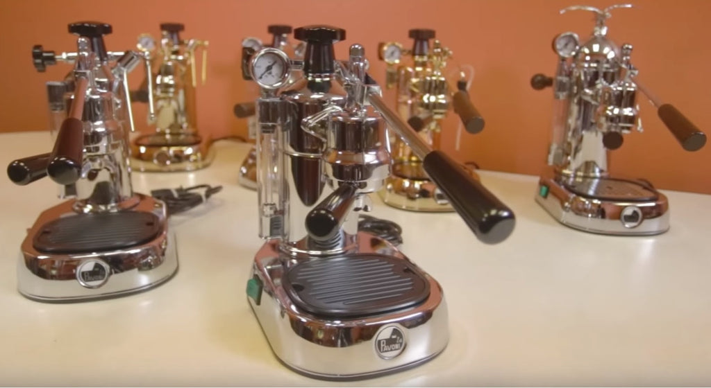 La Pavoni Espresso Machines for the home - Video - Java Exotic Imports