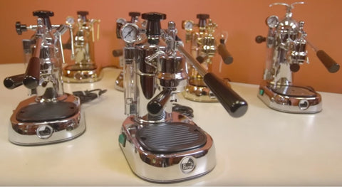 La Pavoni Espresso Machines for the home - Video