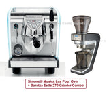 Simonelli Musica LUX DIRECT CONNECT - Espresso Kit Package - Customer Trade in! - Java Exotic Imports