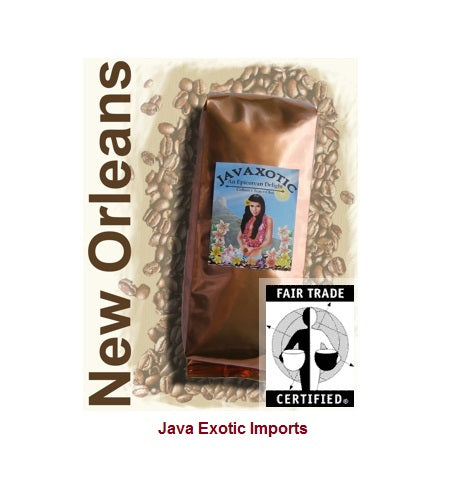 New Orleans Pecan Praline Coffee - Free Shipping - Java Exotic Imports