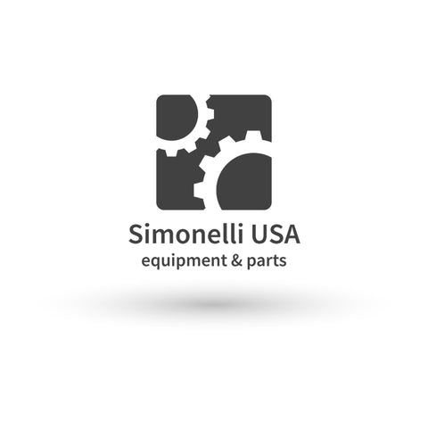 Nuova Simonelli APPIA II 1GR FRONT PANEL (FOR MACHINE)