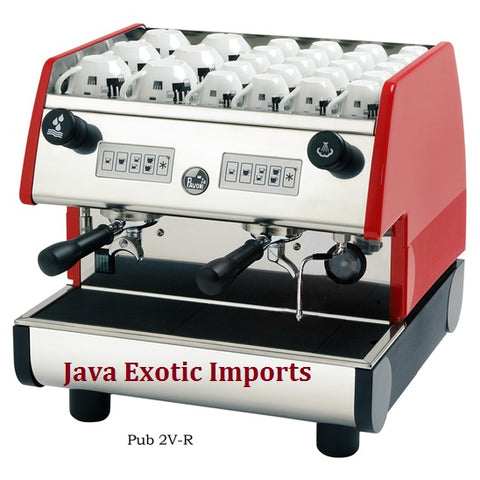 La Pavoni PUB SERIES Volumetric 2 group - Java Exotic Imports