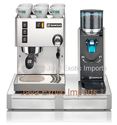 Rancilio Silvia M + Rocky on Demand + Base