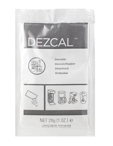 Urnex Dezcal Activated Scale Remover - Five 1oz packs - Java Exotic Imports