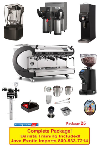 Simonelli Aurelia Wave Coffee Shop PACKAGE plus BARISTA TRAINING!