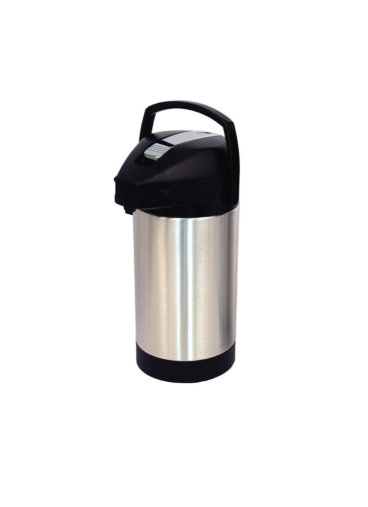 Fetco 3.0 L Stainless Steel Lined Lever Airpot - Java Exotic Imports
