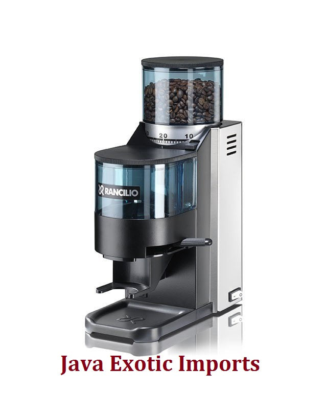 Rancilio Rocky - Stainless Steel w/ Doser - Java Exotic Imports