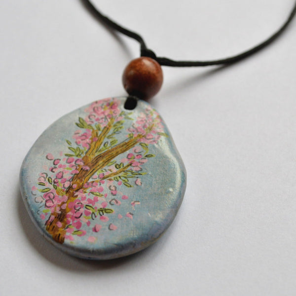 Flowering Tree Boho Necklace