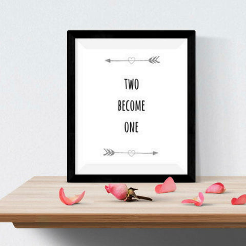 Two Become One Downloadable Print