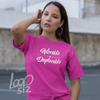 Woman wearing Adorable Deplorable t-shirt - Loop 512