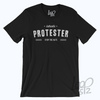Authentic Protestor Shirt - Deep Black - Unisex