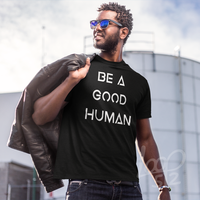 Be a Good Human Shirt - Pink - Women's