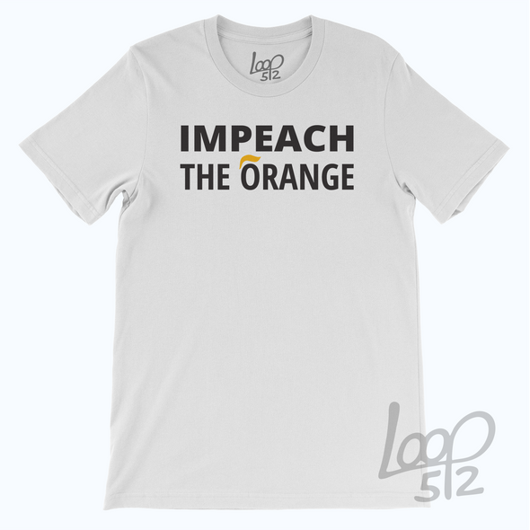 Impeach the orange - white - unisex