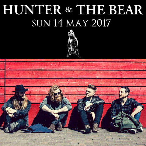 Hunter & The Bear - Sun 14th May 2017