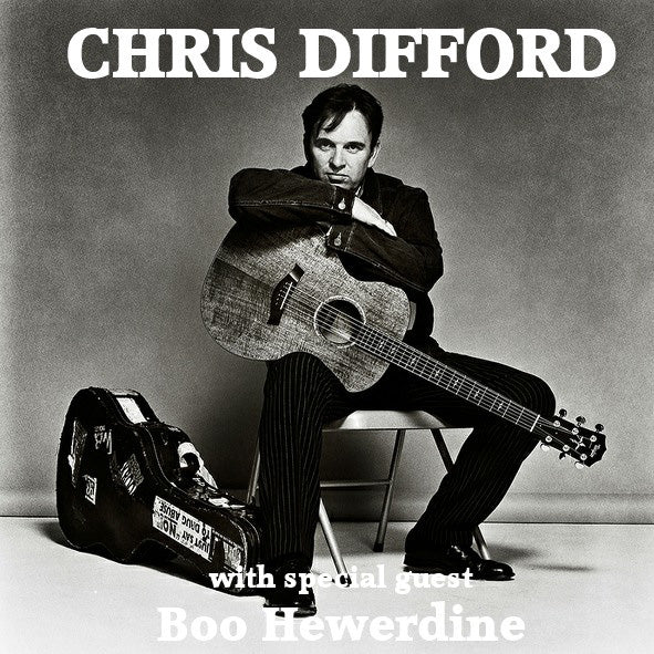CHRIS DIFFORD with BOO HEWERDINE - 27 March 2018
