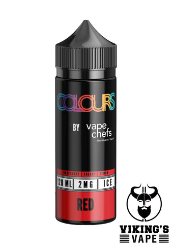 Vape Chefs - Colours Red