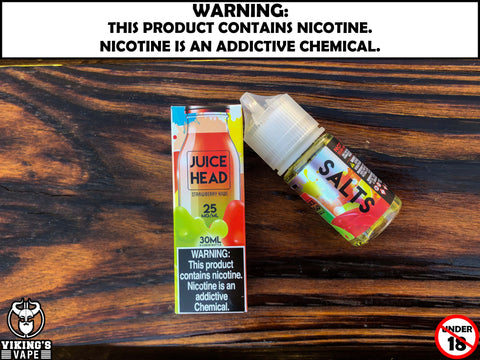 Nic Slt Juice Head - Strawberry Kiwi
