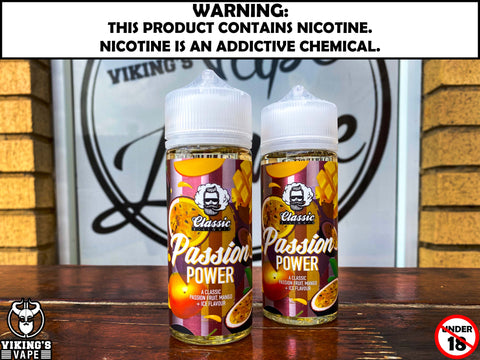 Classic E-Liquid - Passion Power