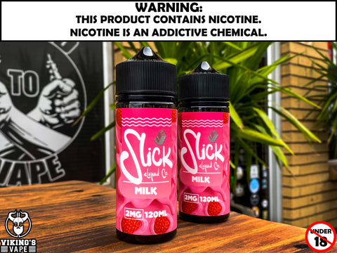 Slick E-Liquid - Milk