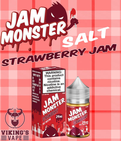 Jam Monster - STRAWBERRY (Nic Salt)