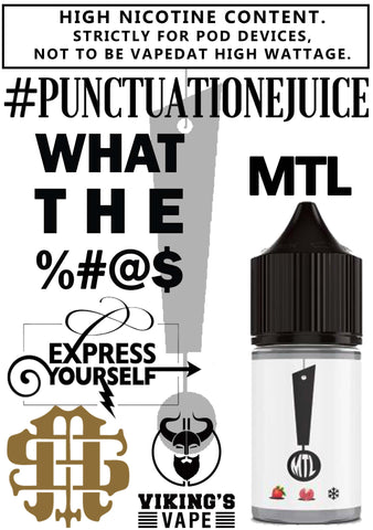 Punctuation - Exclamation MTL
