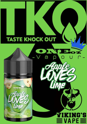 ONEoz Vapour - Apple Loves Lime