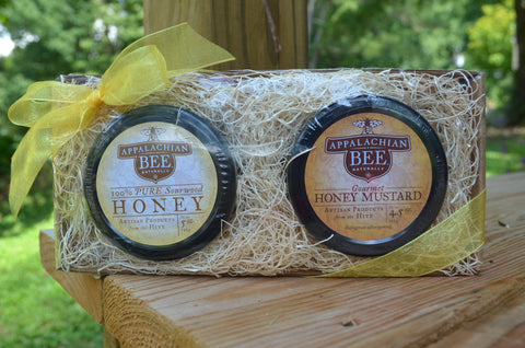 Sourwood Honey & Honey Mustard Gift Set