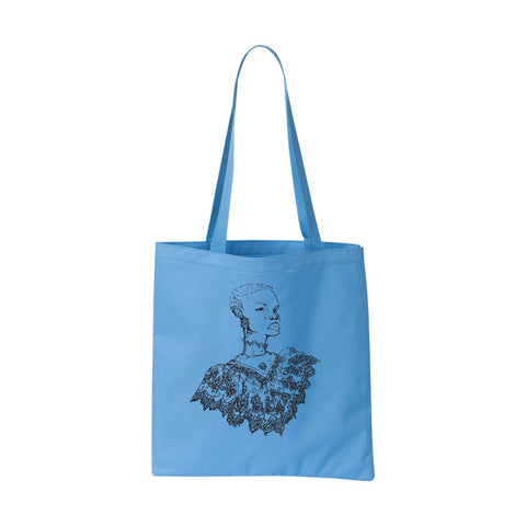 Southern Girl Blue Tote