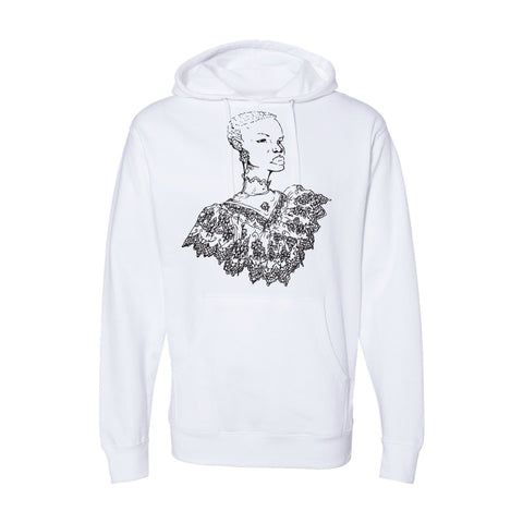 Southern Girl White Hoodie