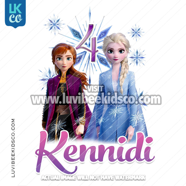 Frozen 2 Iron On Transfer - LuvibeeKidsCo
