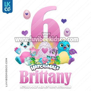 Hatchimals Heat Transfer Design - LuvibeeKidsCo