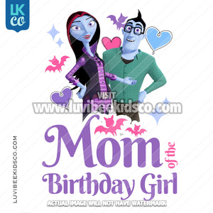 Vampirina Iron On Transfer | Mom of the Birthday Girl - LuvibeeKidsCo