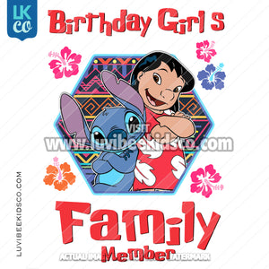 Lilo & Stitch Heat Transfer Designs - Add Family Members - LuvibeeKidsCo