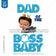 Boss Baby Iron On Transfer | Dad of the Boss Baby - Afro Boy with Crown