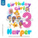 Bubble Guppies Iron On Transfer | Rainbow Birthday Girl