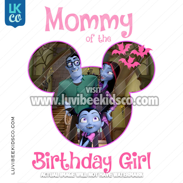 Vampirina Iron On Transfer | Mommy of the Birthday Girl - LuvibeeKidsCo