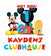 Mickey Mouse Iron On Transfer | Clubhouse | Primary Colors