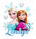 Frozen Iron On Transfer | Elsa & Anna