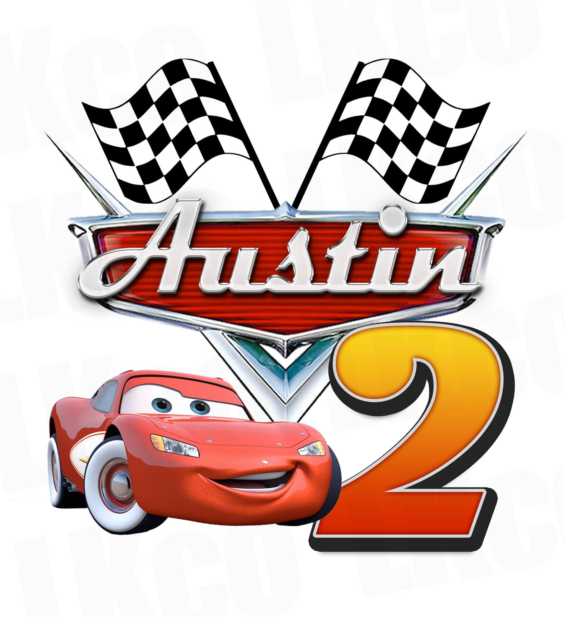 graphic regarding Lightning Mcqueen Printable Decals known as Disney Cars and trucks Iron Upon Move Lightning McQueen