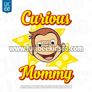Curious George Iron On Transfer | Birthday Boy's Mommy - LuvibeeKidsCo