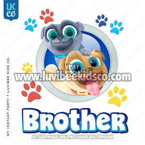Puppy Dog Pals Iron On Transfer | Brother - LuvibeeKidsCo