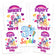 My Little Pony Iron On Transfers Family Pack | Rainbow Dash