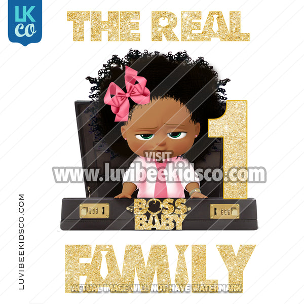Boss Baby Iron On Transfer | Family of the The Real Boss Baby