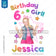 JoJo Siwa Inspired Heat Transfer Design - Birthday Girl
